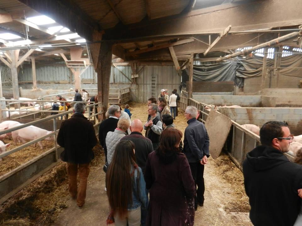 une ferme ouverte chez Pascal et Sylvie Lhermitte.